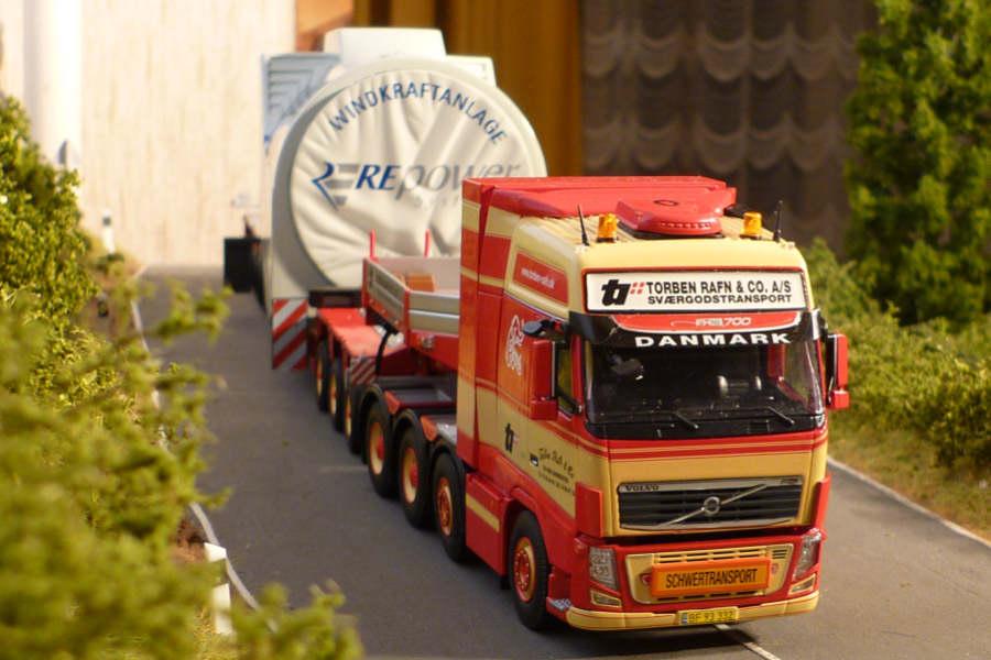 Torben Rafn Repower Maschinenhaus Transport Volvo Fh 16