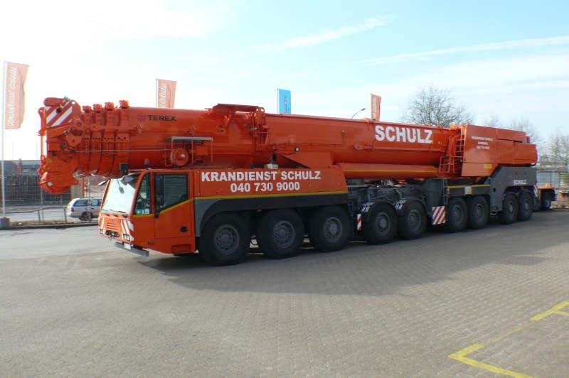 Big Boy Toys >> Terex Demag AC 700 Krandienst Schulz - Hansebube.de